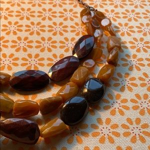 Vintage beaded layer necklace